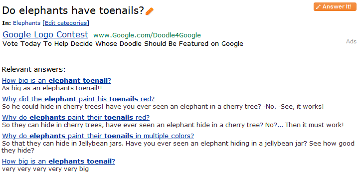 Why Did The Elephant Paint His Toenails Red