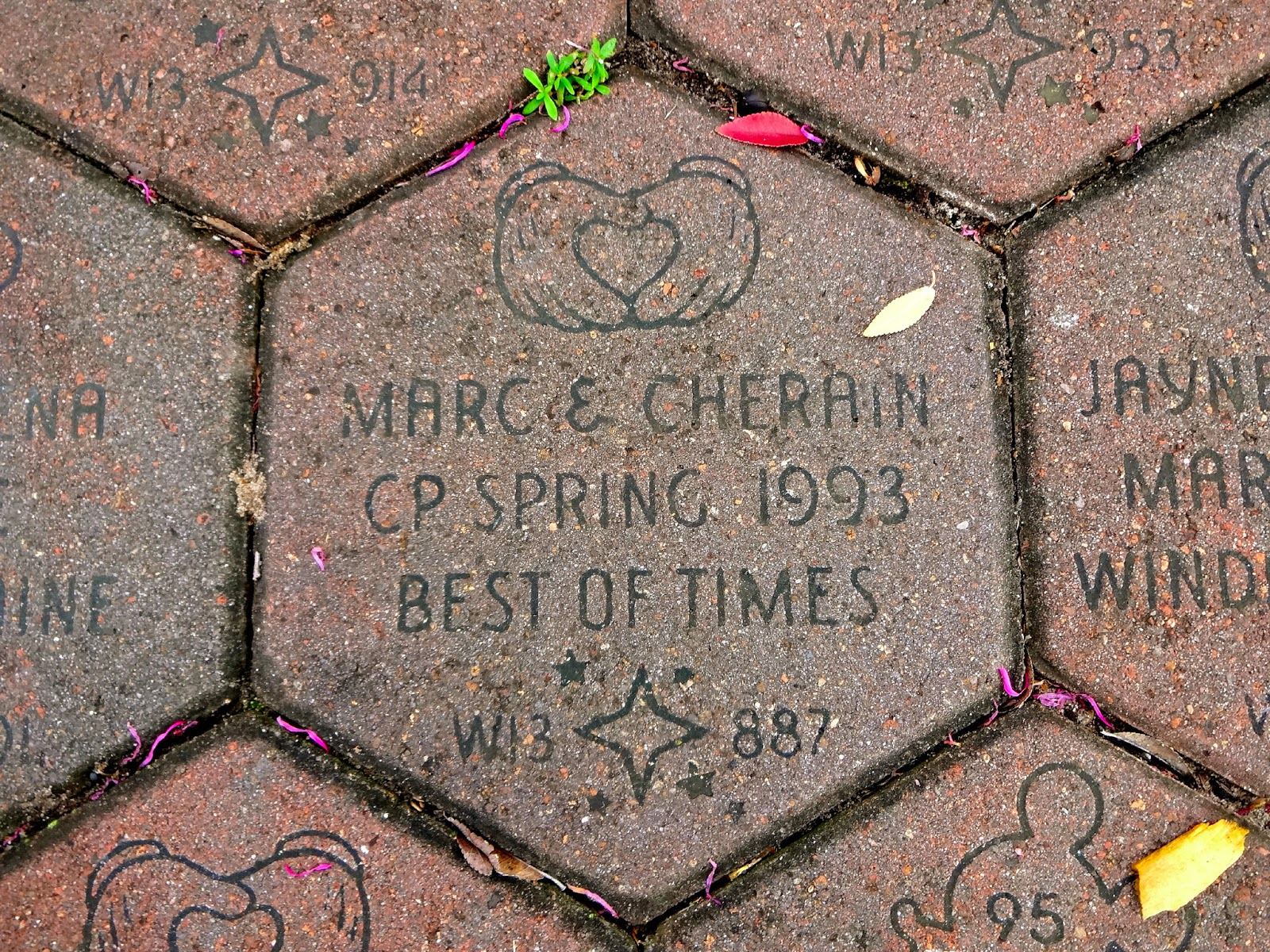 Disney Walk Around the World Bricks
