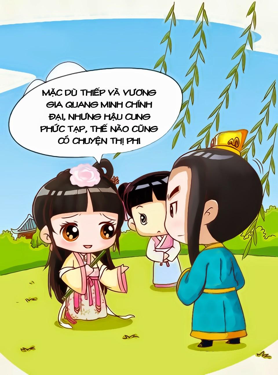 Chân Hoàn Truyện Chap 8.2 - Next Chap 9