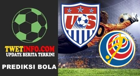 Prediksi United States vs Costa Rica