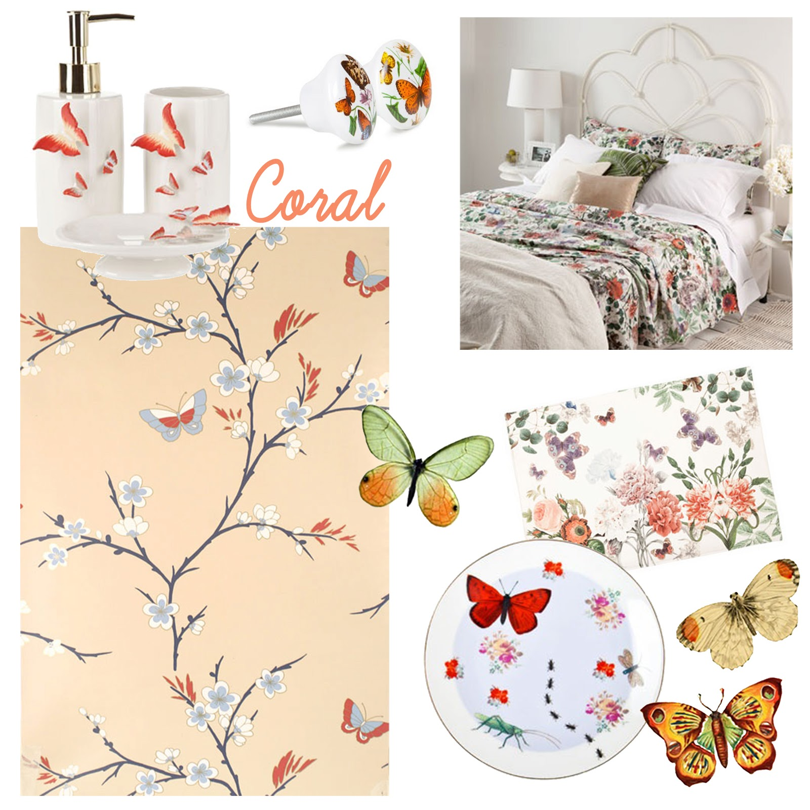 Atelier buffo butterflies - Zara home accessori bagno ...