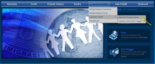 Cara membuat Paspor online - exnim.com