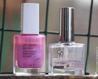 Avon Pearl Shine Sheer Lilac