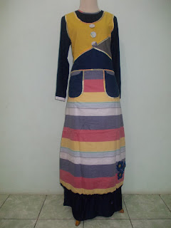 Baju Gamis Terbaru 2013, Trend Baju Muslim Terbaru