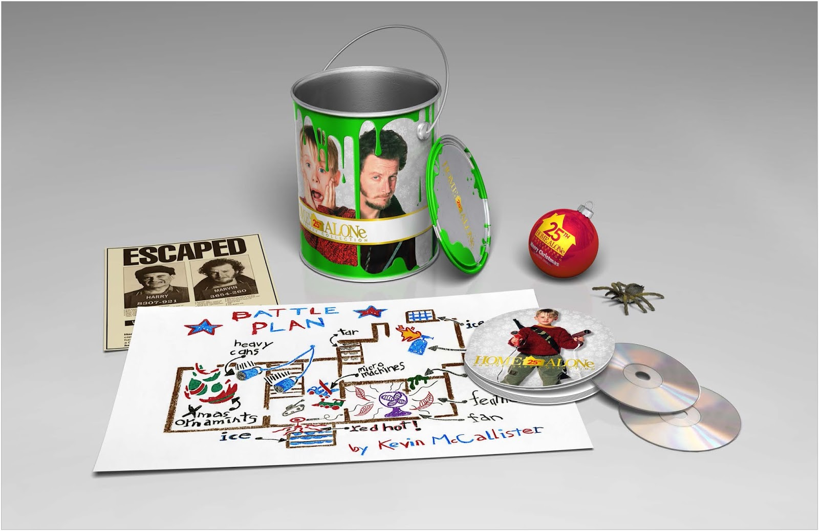Once Upon A Twilight Home Alone 25th Anniversary Collection Blu Ray DVD Giveaway HomeAloneInsiders
