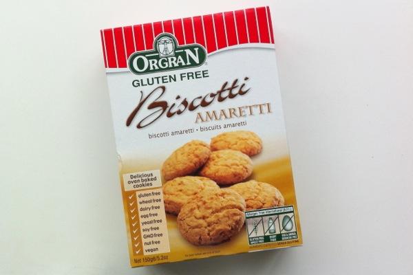 Orgran Biscotti Amaretti pack