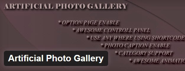 Artificial Photo Gallery