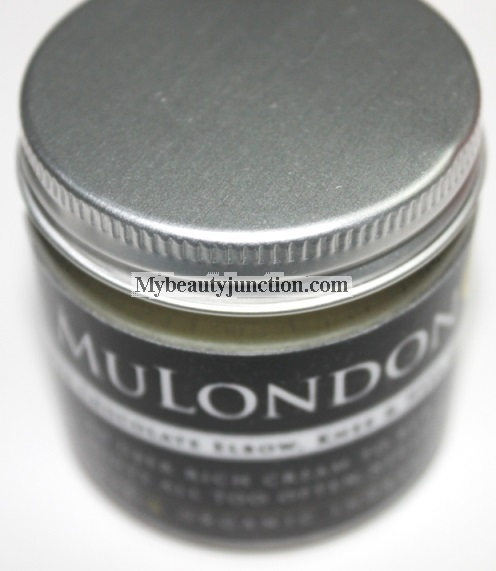 MuLondon White Chocolate Elbow, Knee and Heel Cream review, usage results, photos