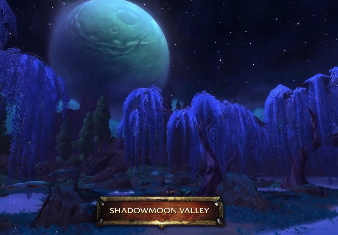 blizzard world of warcraft lord of draenor the red world shadowmoon valley