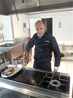 Esteban Capdevila cocinando. Hogar Vasco. Blog Esteban Capdevila