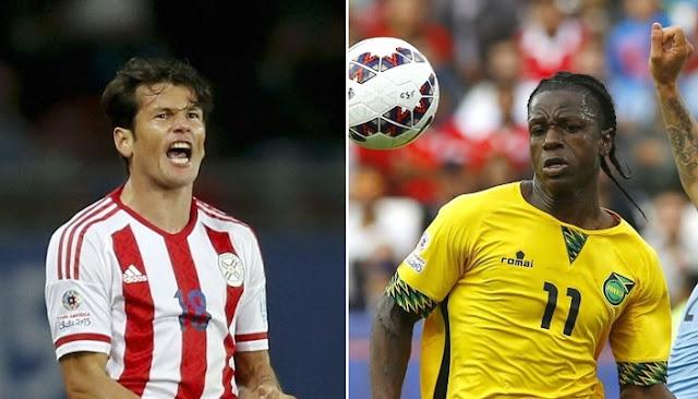 Paraguay vs Jamaica en vivo