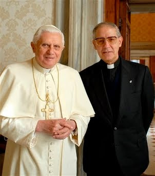 zwarte paus en de pedofiele paus