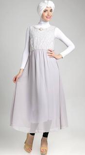 Kumpulan Design Gambar Dan Model Baju Muslim Pesta Modis Terbaru 2015