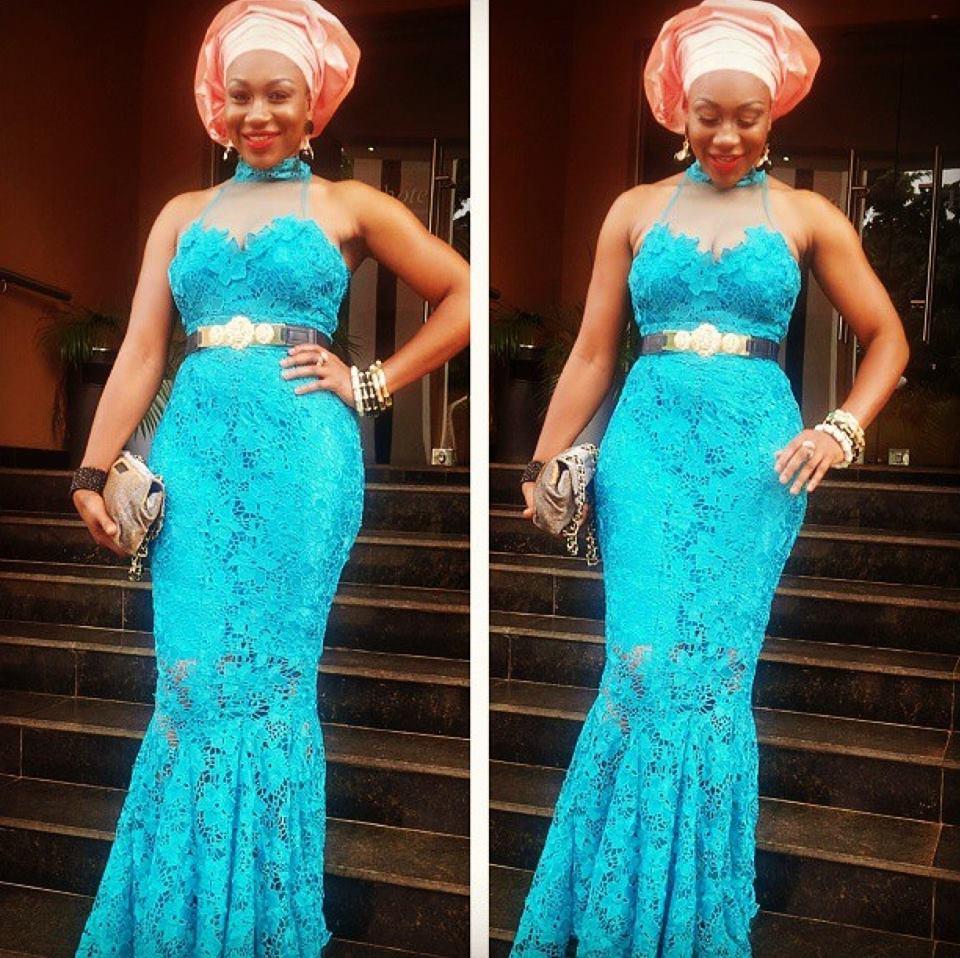 See How Nigerian Ladies Rock The Latest Aso Ebi Styles 2015 Debonke House Of Fashion