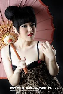 Tina Toon for Popular World December 2012