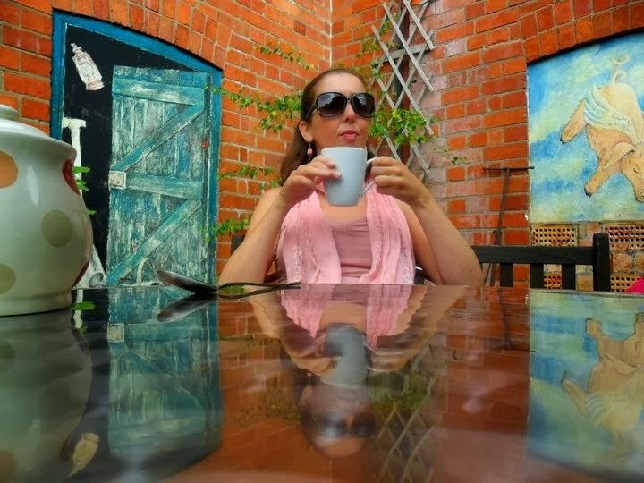 Single Woman Drinking Tea