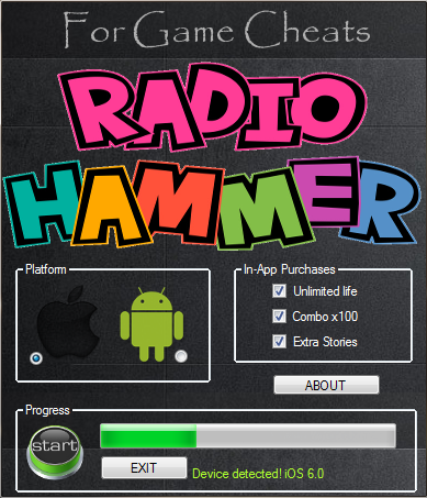 Radio hammer Game Hack