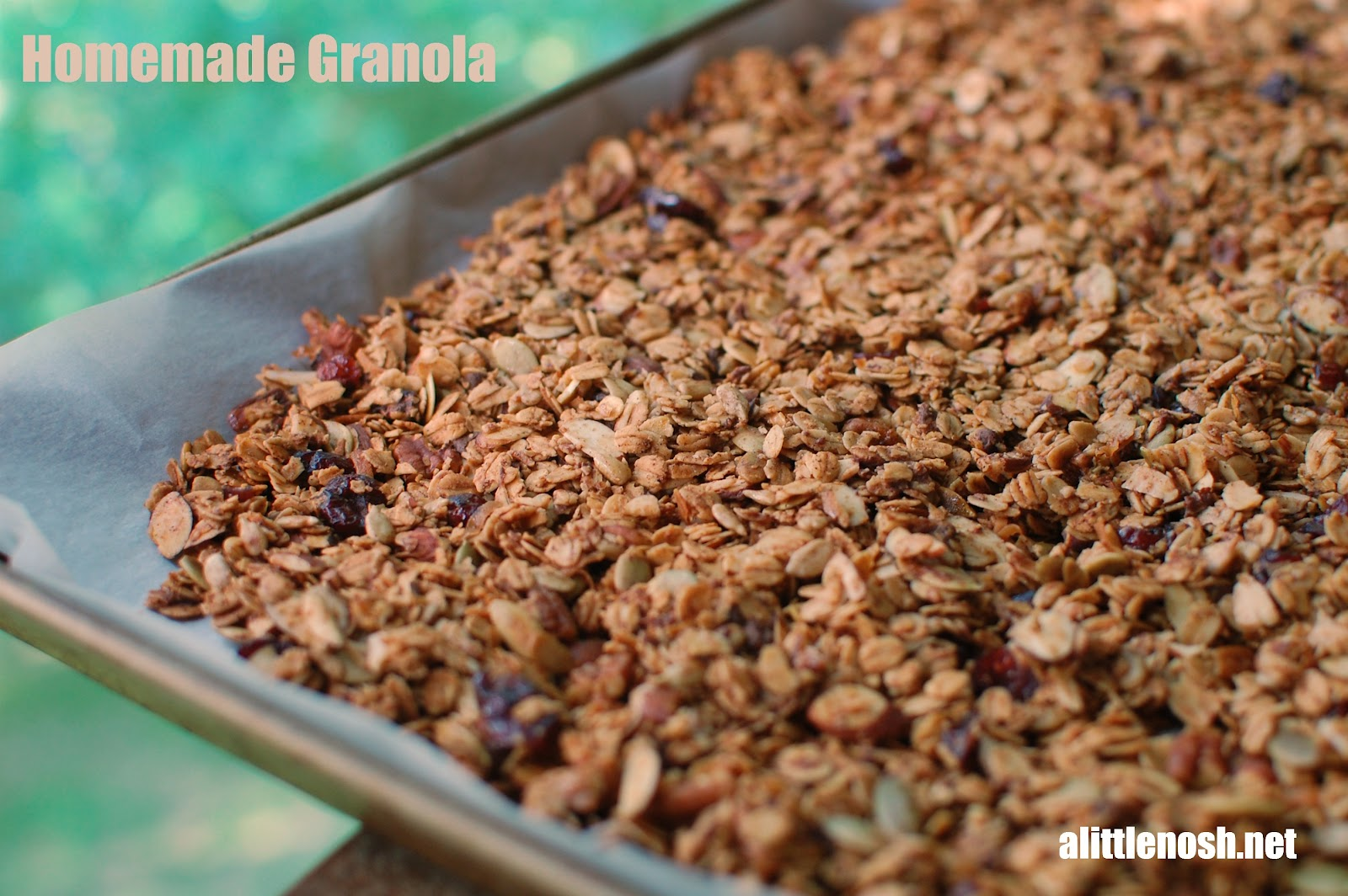 ... get enough homemade granola these days. It's so easy to make