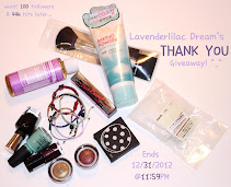 Lavenderlilacdream Thank You Giveaway