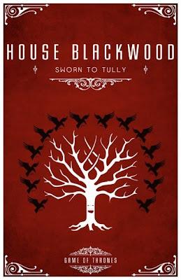 emblema casa Blackwood - Juego de Tronos en los siete reinos