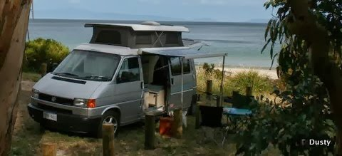 The Dusty Campervan