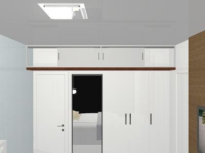 armário planejado para quarto de casal