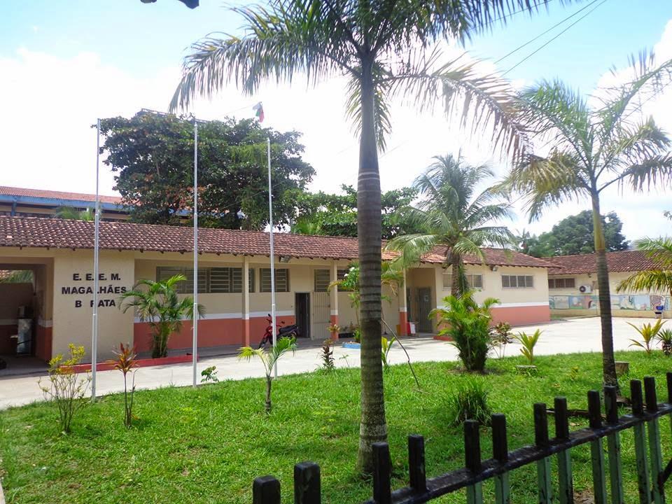 Escola Magalhães Barata /Foto: Ewerton Sena.