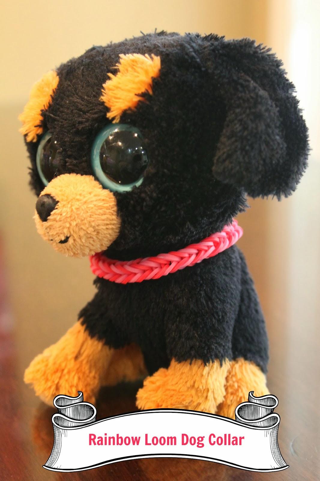 Rainbow Loom Dog Collar Ava wanted a dog collar for