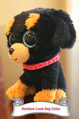Rainbow Loom Dog Collar Keeping up with the Ki...