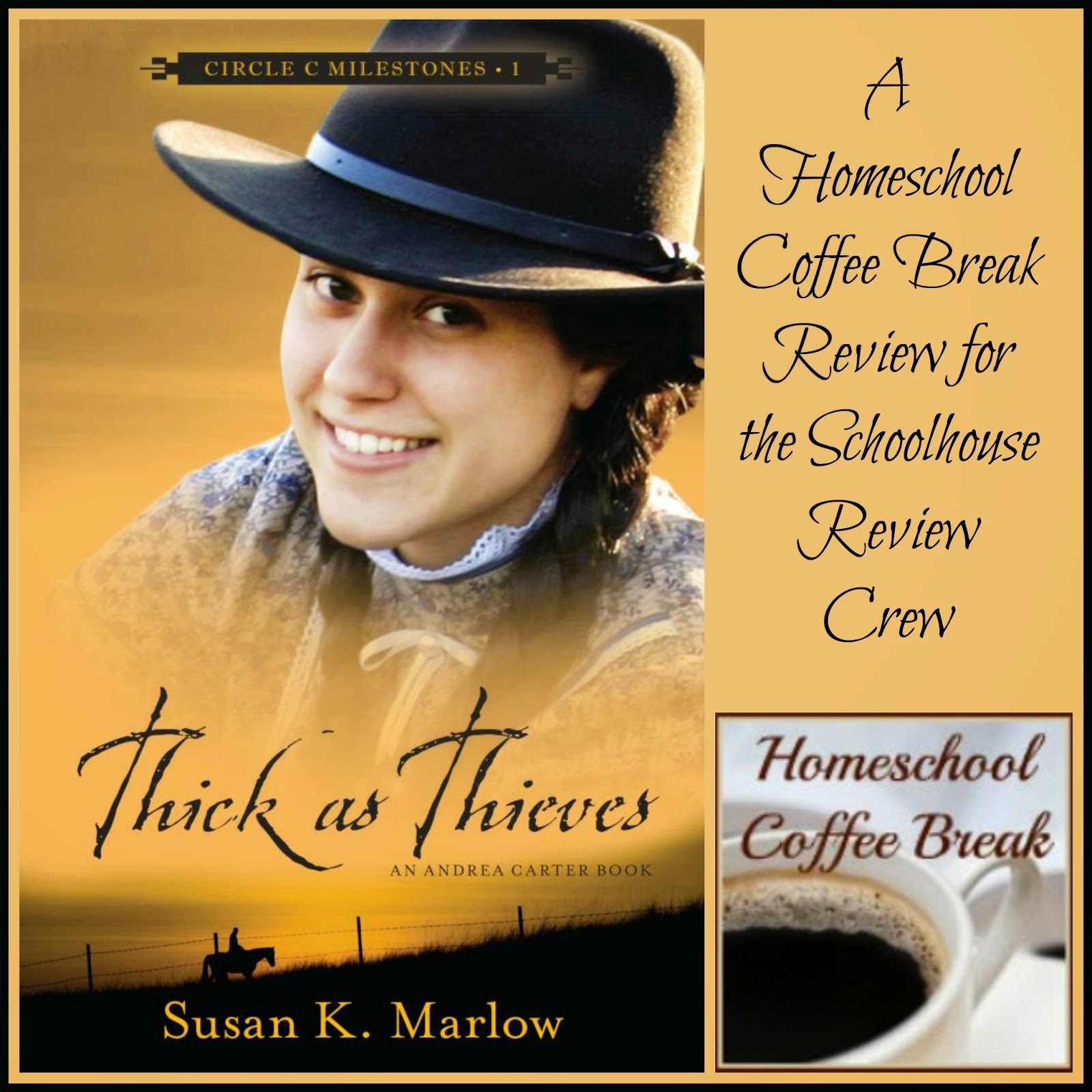 Thick As Thieves book review by Homeschool Coffee Break @ kympossibleblog.blogspot.com