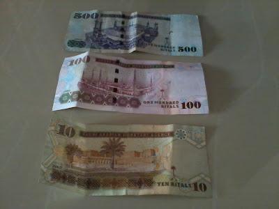 500 Riyals