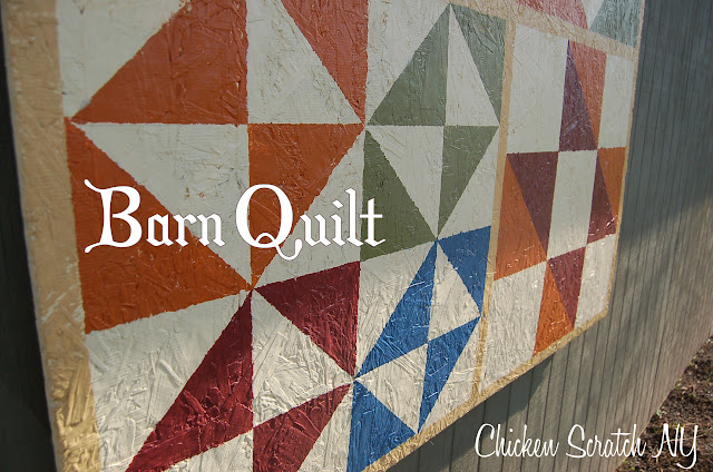 Barn Quilt Tutorial | Chicken Scratch NY