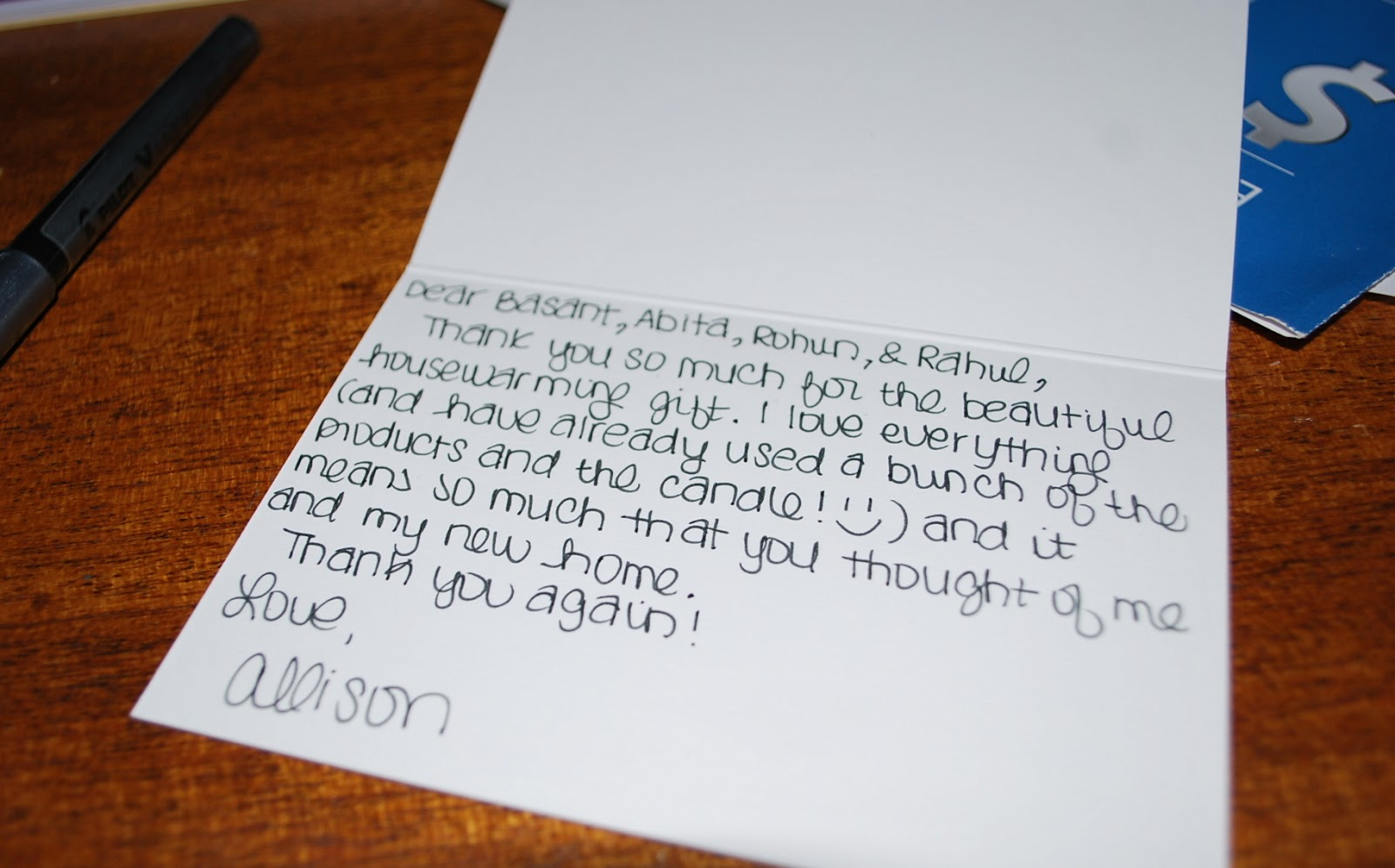 birthday gift thank you notes wording examples