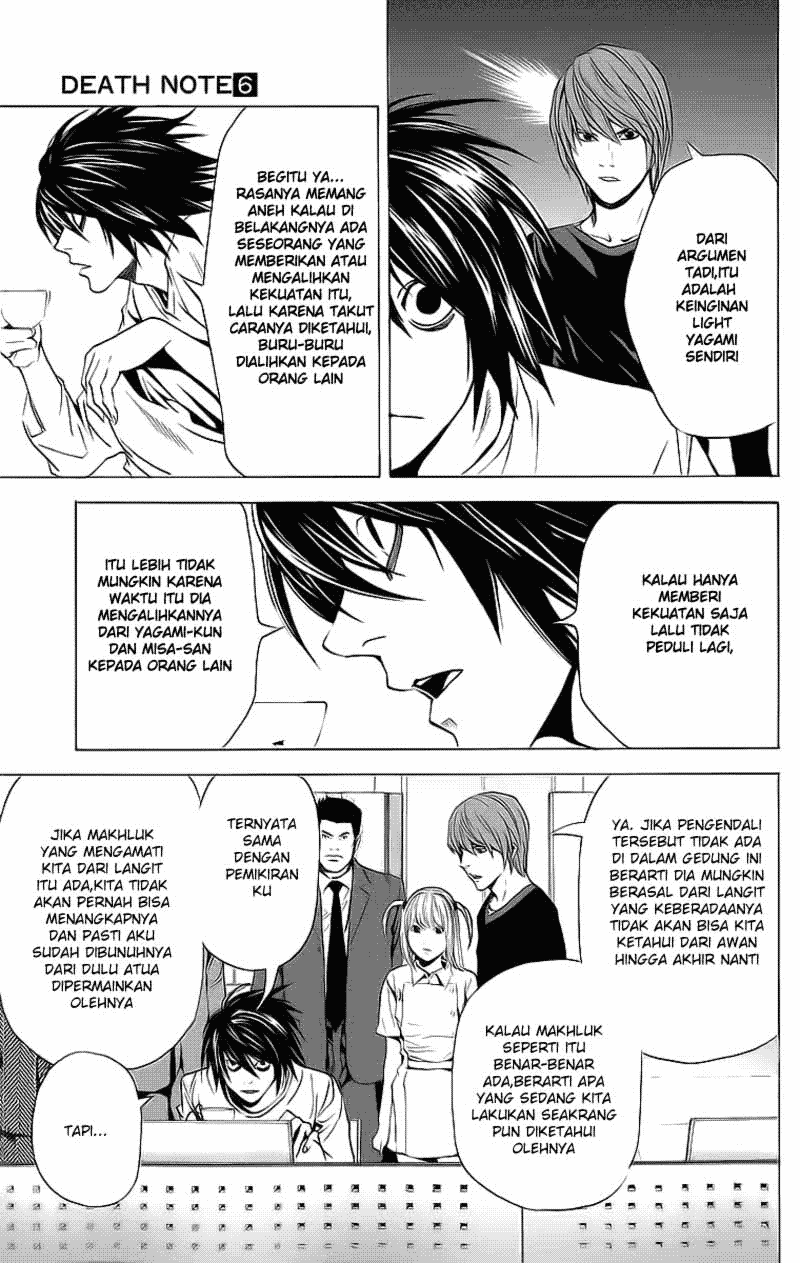 Baca Manga, Baca Komik, Death Note Chapter 49, Death Note 49 Bahasa Indonesia, Death Note 49 Online, Death Note 49 Indo