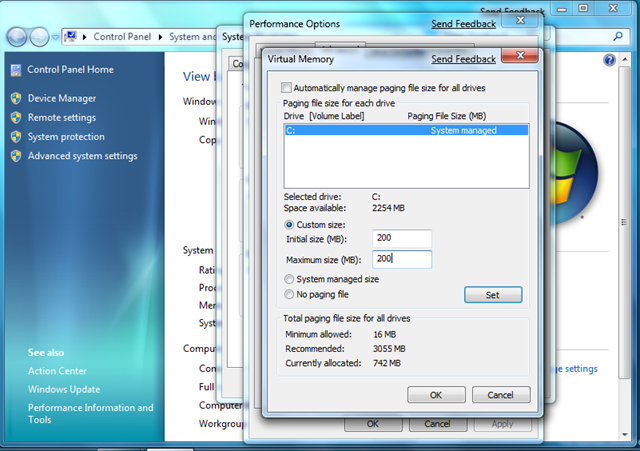 533 removing a swap file