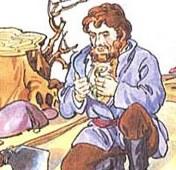 povestire pe scurt tapul si sarpele