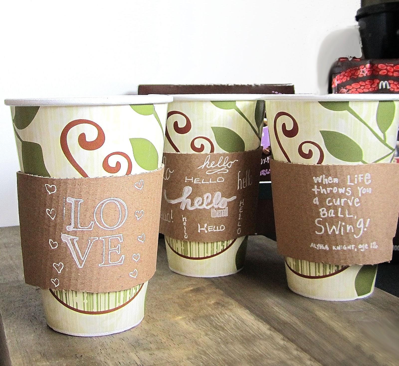 365 Designs: new McCafé single brew coffee with printable cup sleeve ...