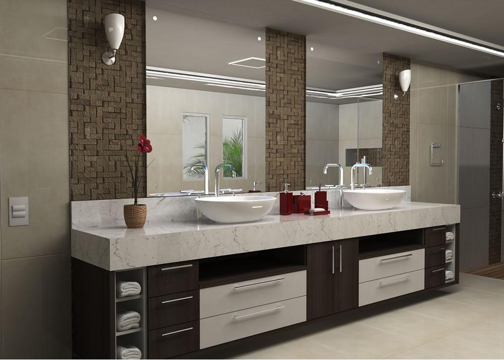 Casa Nova Inspiração para louça e decoração dos banheiros Adoro esse deta # Nicho Banheiro Louca