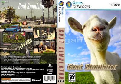 Jogo Goat Simulator PC DVD Capa