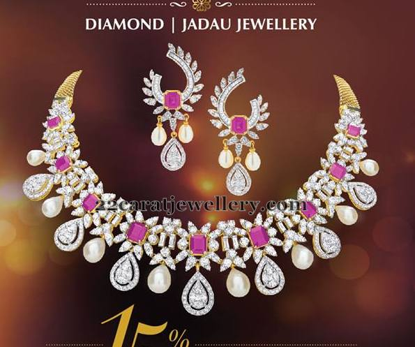 Diamond Jadau Jewelry Sale
