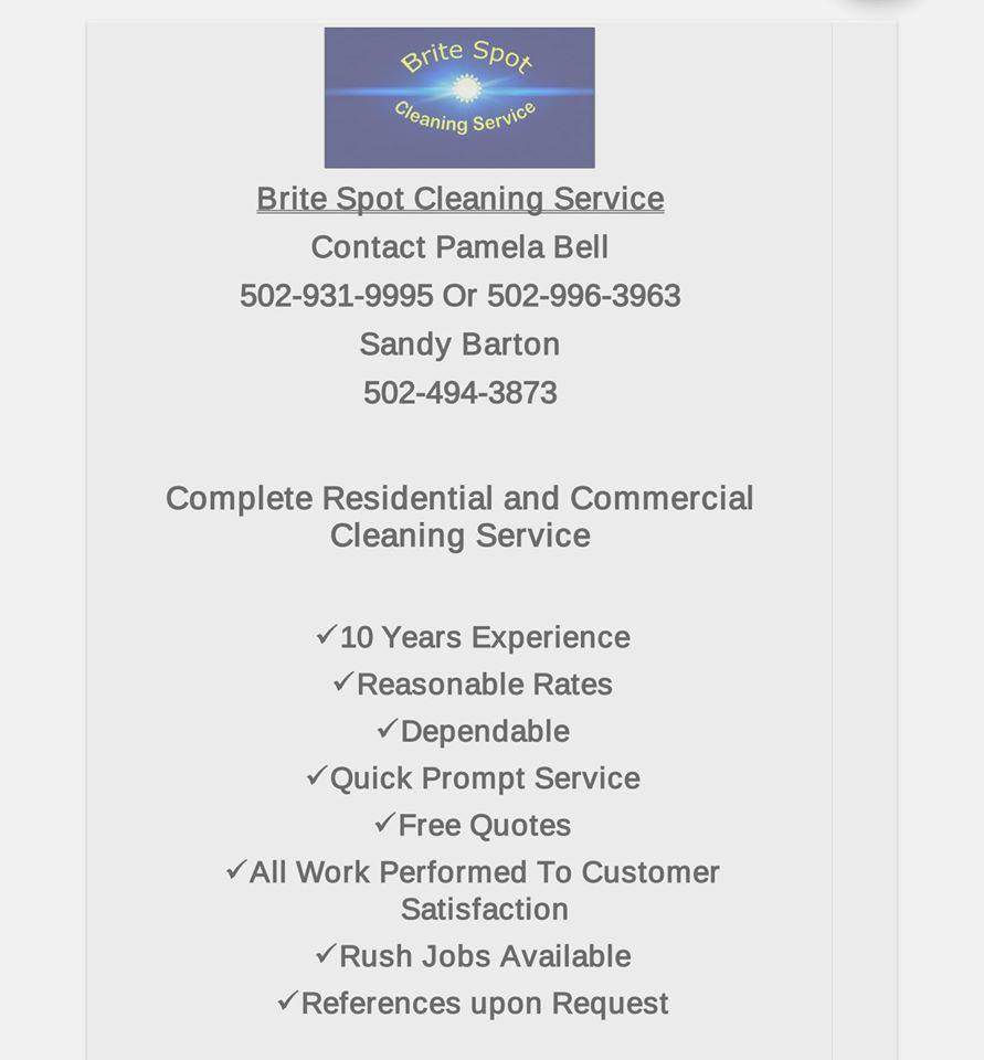 Brite Spot Cleaning Service