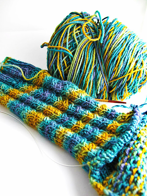 Running Horses Hand Knitted Socks by Beth Hemmila of Hint Jewelry