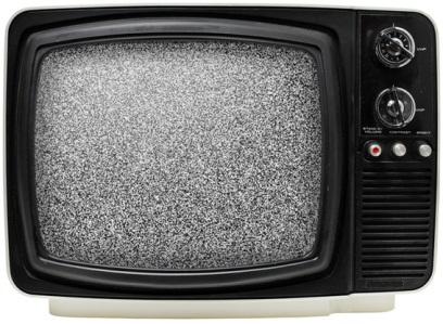 Televisão vazia