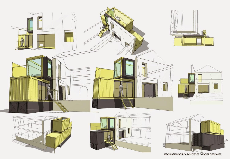 Construcci n con contenedores ampliaci n de vivienda - Contenedores maritimos para vivienda ...