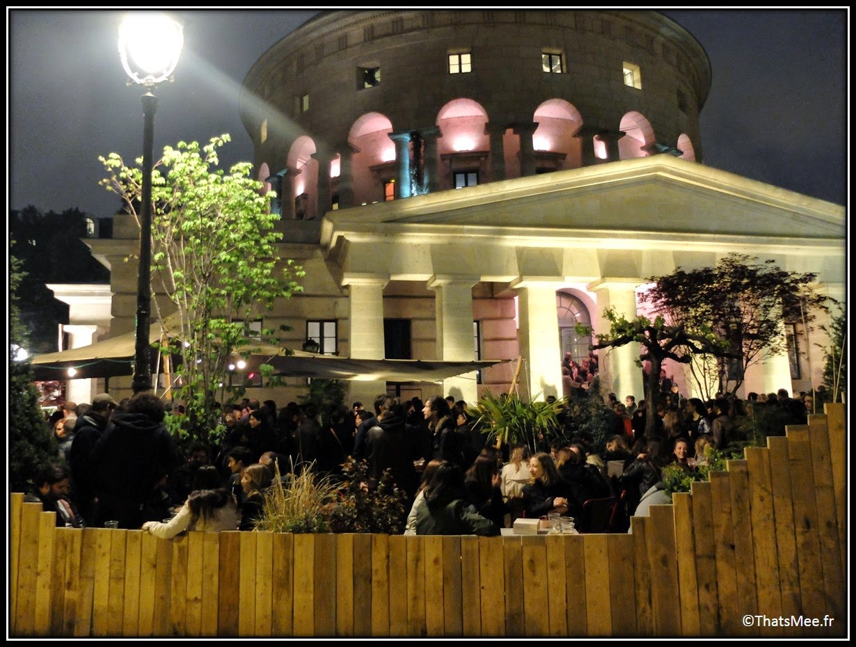 La Rotonde Stalingrad Paris terrasse soirées by night Paris