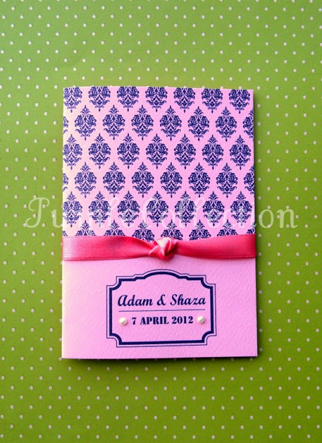 Simple Vintage Purple & Pink Wedding Invitation Cards, Simple, Vintage, Purple, Pink, Wedding Invitation Cards