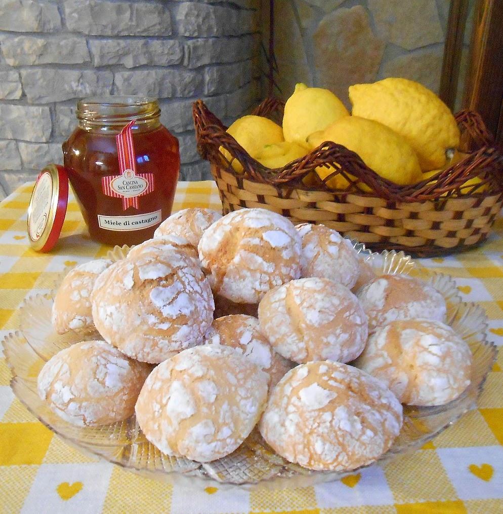 biscotti miele e limone