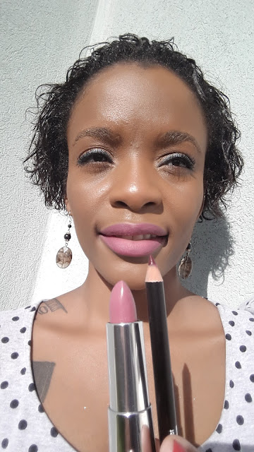 Maybelline Creamy Matte '665 Lust For Blush' swatch www.modenmakeup.com