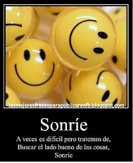 Frases Para La Vida: Sonríe A Veces Es Difícil