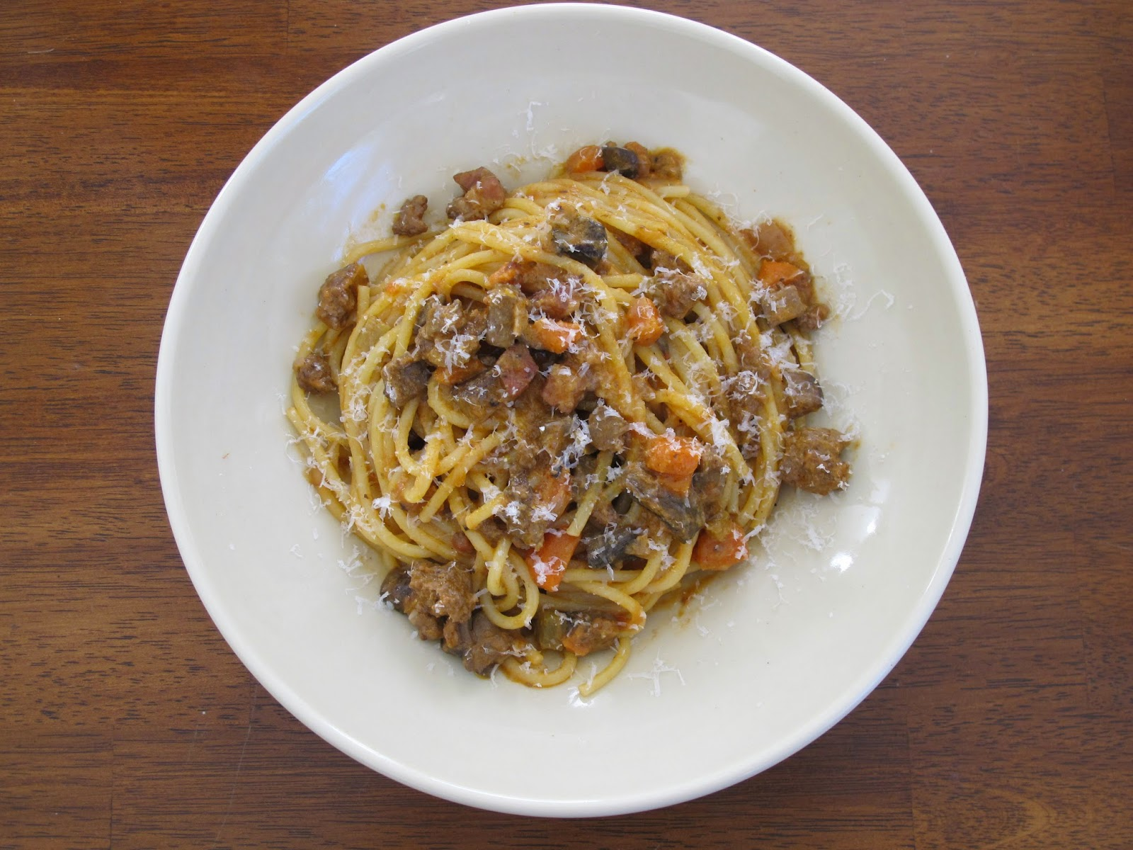 Spaghetti with Lamb Bolognese Sauce